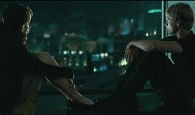 Katniss and Peeta Talk on the Roof-ke7608