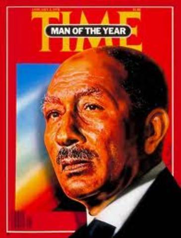 Timemagazenes person of the year-Anwar Sadat