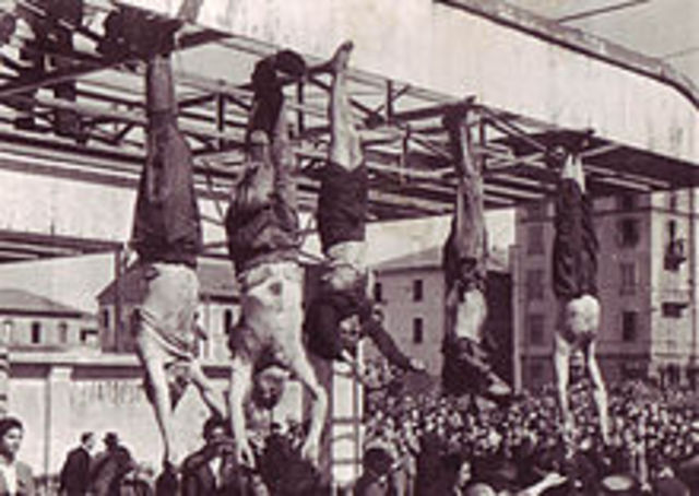 Muerte de Mussolini