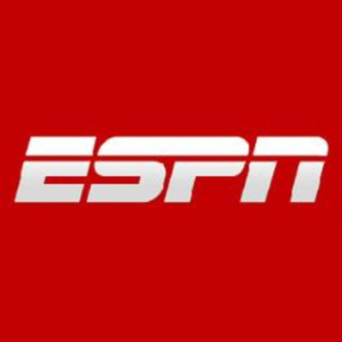 ESPN starts broadcasting ( :