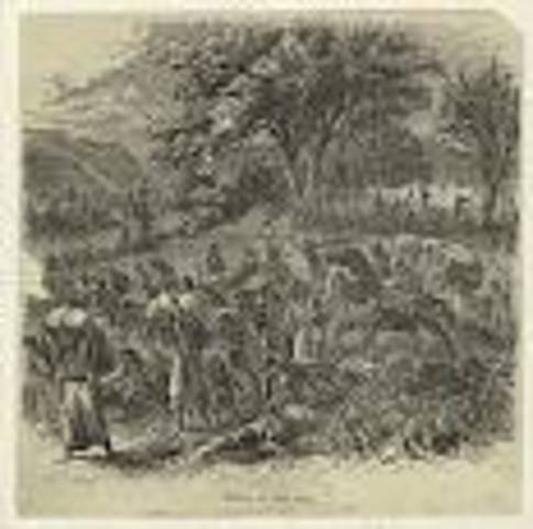 Lincoln enlists to fight in the Black Hawk War