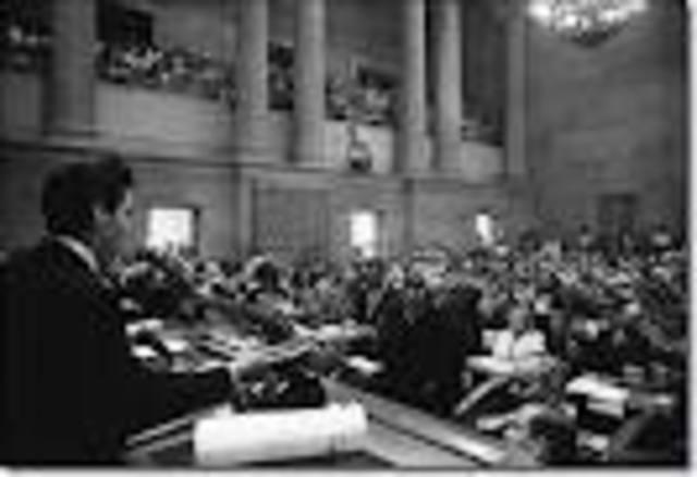 Lincoln joins the Illinois legislature