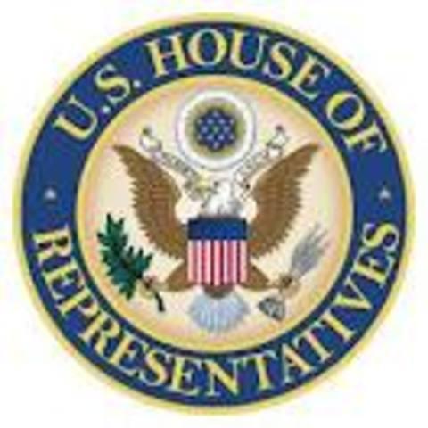 Abraham Lincoln serves as US representative
