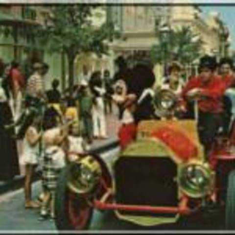 Disney Land Opens