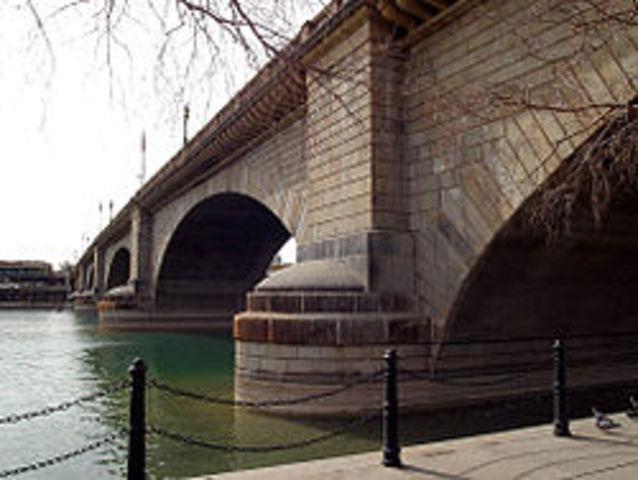 London Bridge brought to US