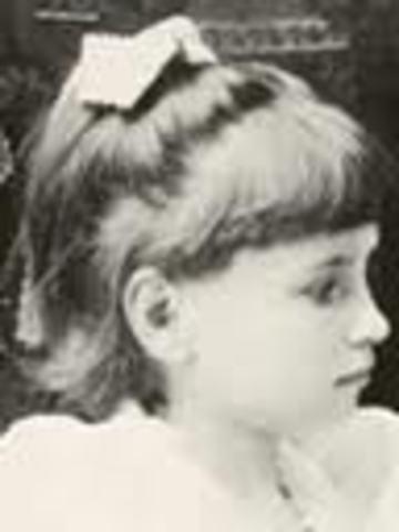 Helen Keller was born