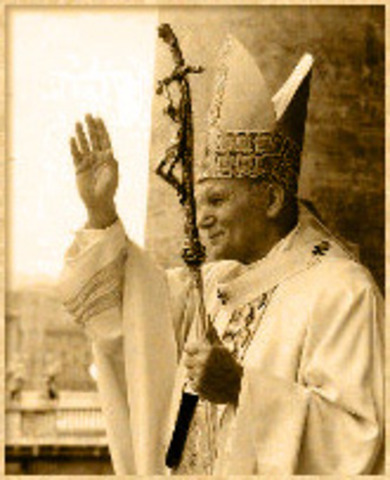 Joh Paul 2 becomes Pope