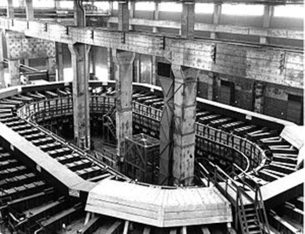 Construction of Y-12 Reactor