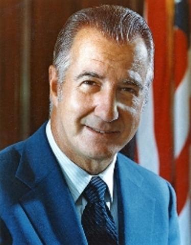 Vice President Agnew Resigns