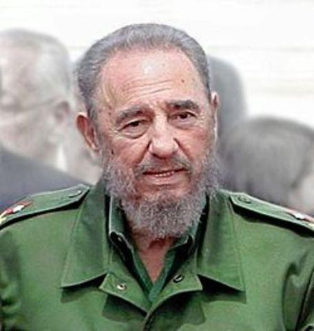 Castro comes to power in Cuba