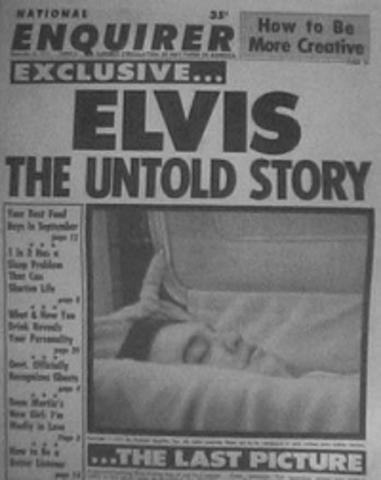 Elves Presley died