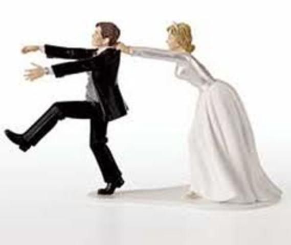 He marries Helen Palmer