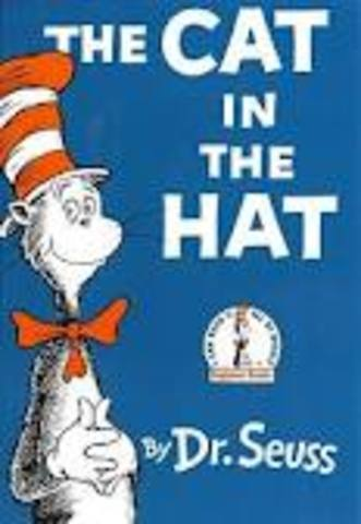Dr. Suess wrote The Cat In The Hat