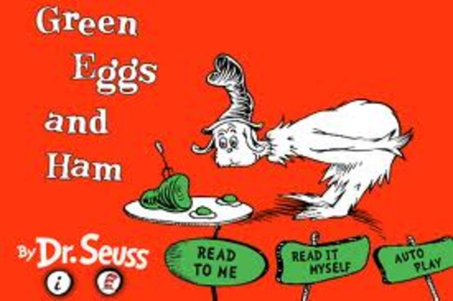 Dr. Seuss published Green Eggs And Ham