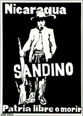 Sandino is murdered inNicaragua