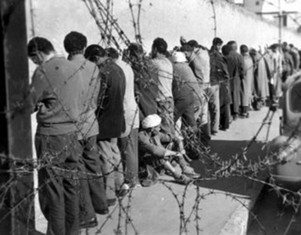 Algerian war of liberation Ended March 19 1962