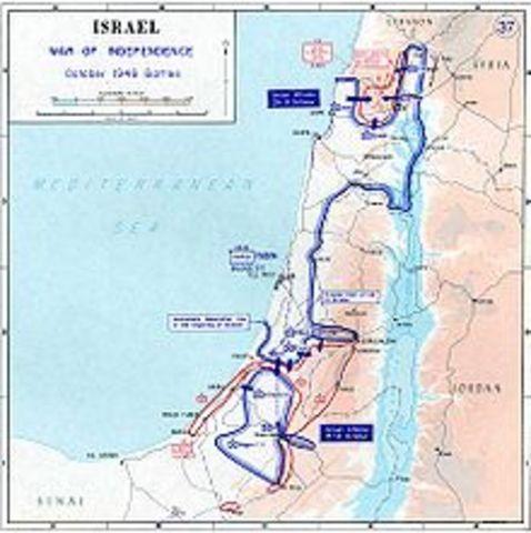 Arab-Israeli War Ended March10, 1949