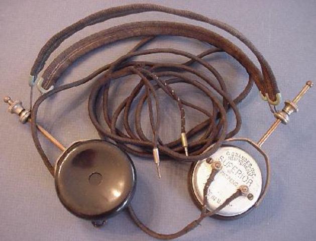 First pair of headphones