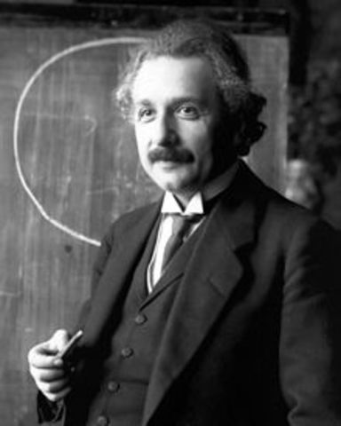 Albert Einstein presents a trailblazing model of gravitation: the general theory of relativity.  This becomes the foundation for modern cosmology.  Einstein introduces spacetime in thre spatial and one temporal dimensional.