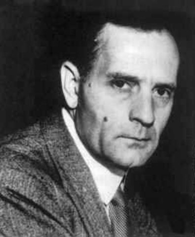Edwin Hubble discovers that the speed at which galaxies are moving away from us is proportional to their distance from Earth.  This is now called the Hubble law.