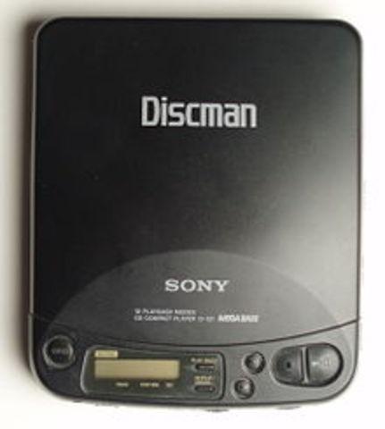 Sony Discman Invented