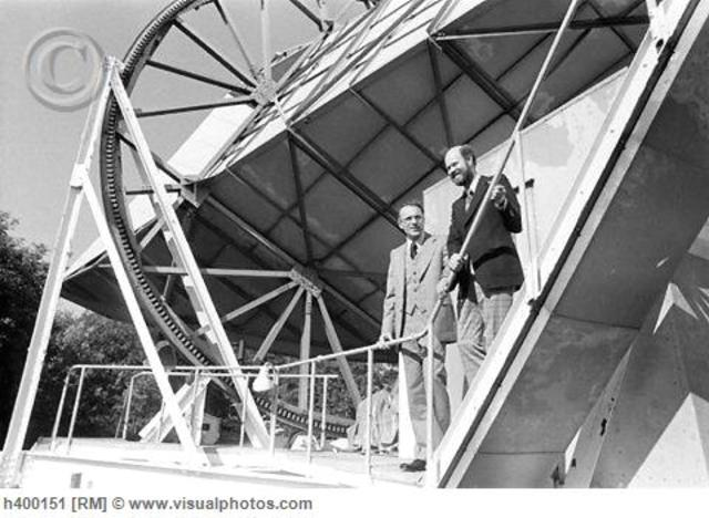 Amo Penzias and Robert Wilson stumbleupon cosmic microwave background radiation while testing a highlysensitive antenna. Because scientists see this leftover energy from the hot early universe everywhere they look, it is convincing evidence of the big ban