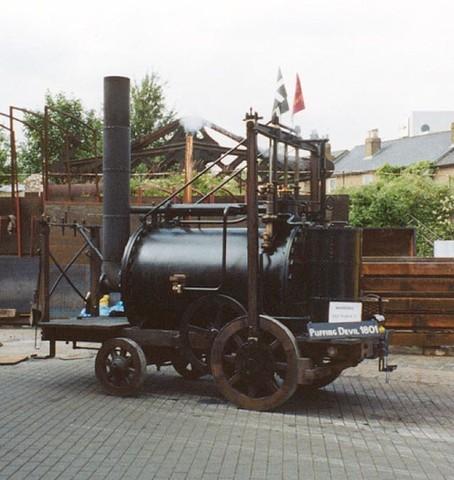 First Horseless Passenger Transport