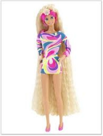 The Totally Hair Barbie was invented