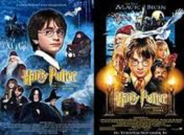 Harry Potter and the Philosopher's Stone movie.