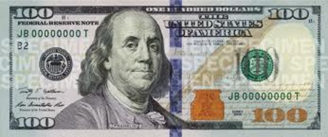 The Design of the dollar bill.