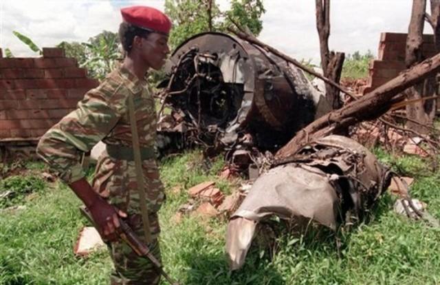 Plane Shot Down carrying Rwandan President