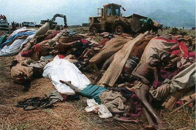 Beginning of genocide in rwanda