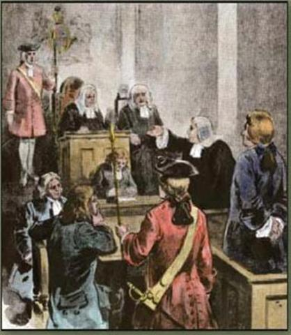 John Peter Zenger Trial