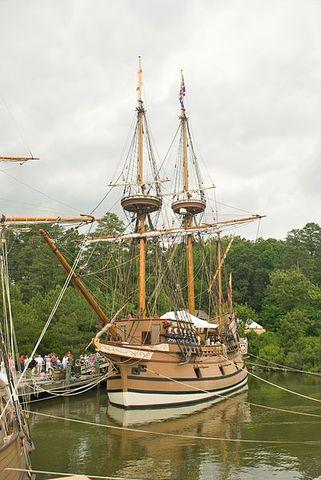 English settles Jamestown