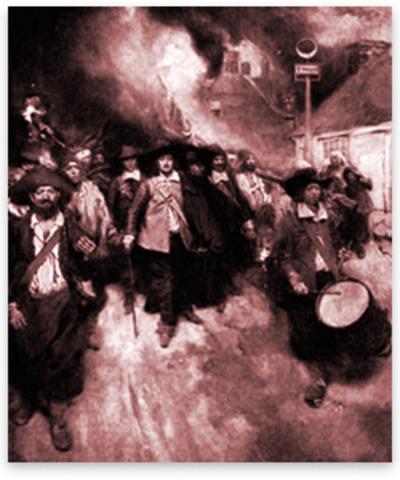 Burning of Jamestown