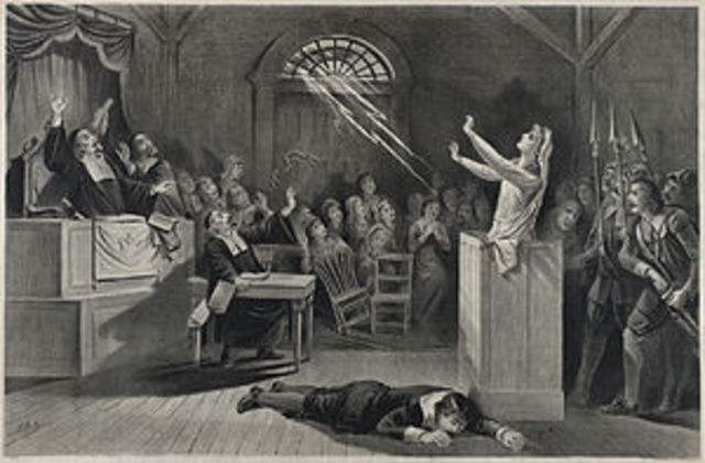 Witchcraft delusion at Salem