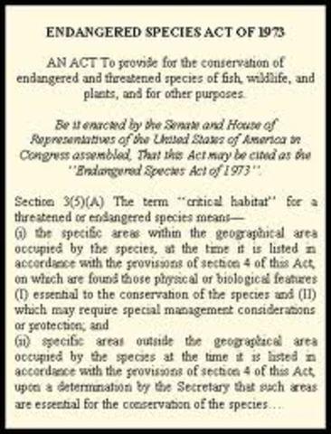 Endanger Species Act