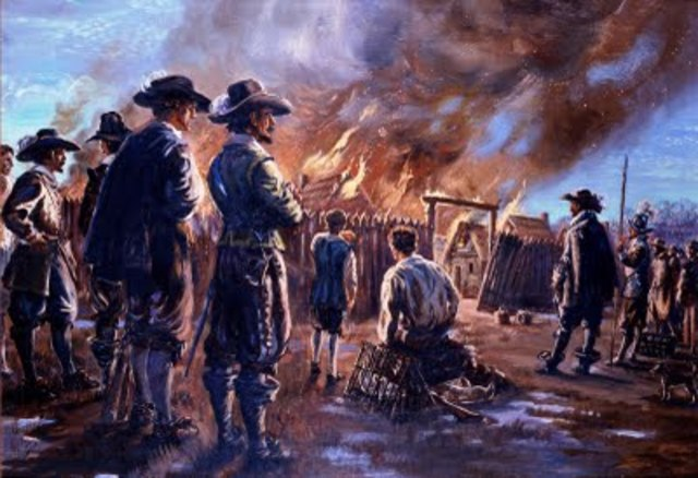 Nathaniel Bacon and Jamestown burned down