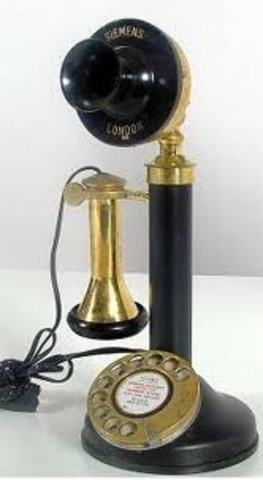 El primer telèfon a Barcelona