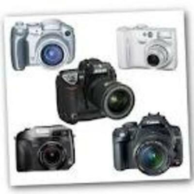 History of Cameras timeline