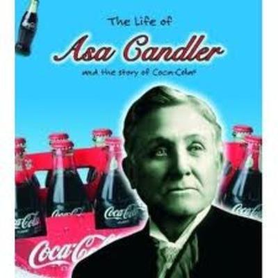 Asa Griggs Candler, Founder of coca-cola timeline