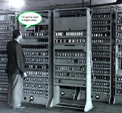 First computer to advertising