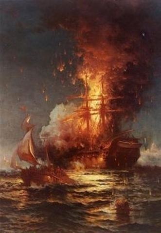 First Barbary War Started