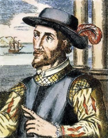 Ponce de Leon lands in Florida