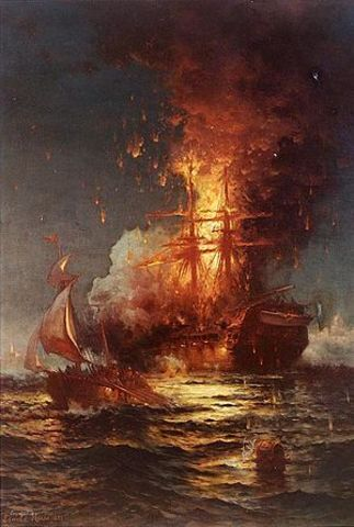 End of Barbary War