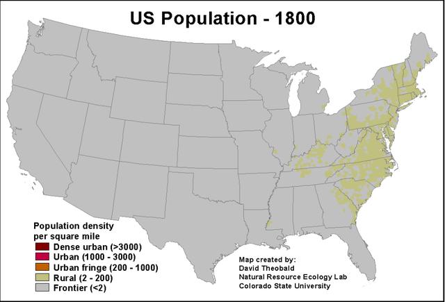 US Population-1800