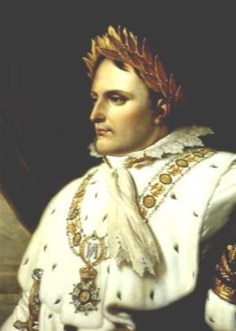 Napoleon Bonaparte was Crowned the Emperor of France