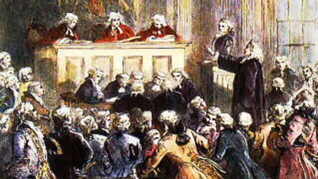 Libel Trial