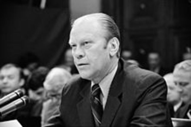 Gerald ford is made republican canadite