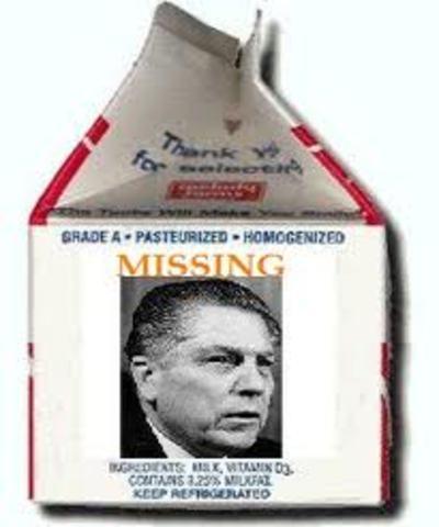 Jimmy Hoffa disappears